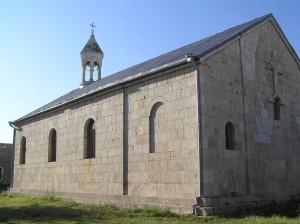 Starobylý klášter v Amarasu