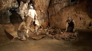 Mladečské jeskyně - obřad