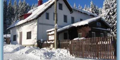 Chata Archa v zimě