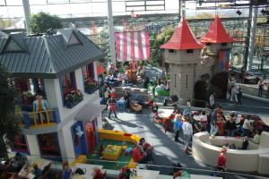 Playmobil park - herna v hale